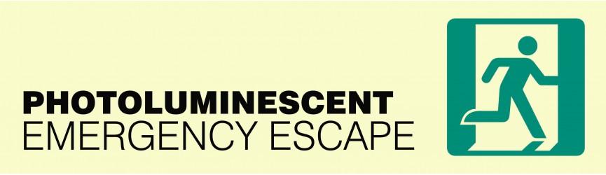 Emergency Escape Photoluminescent
