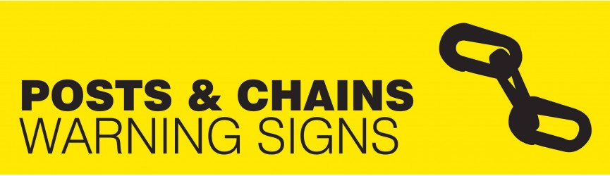 Warning Posts, Chains and Barriers