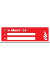 Fire Alarm Test On / at