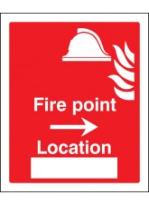 Fire Point Arrow Right Location