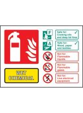 Wet Chemical Extinguisher Identification