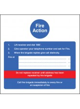 Fire Action - Hotel
