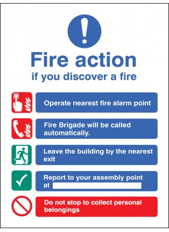 Fire Action Auto Dial without Lift (Dialled Automatically)