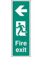 Fire Exit Left (Portrait)