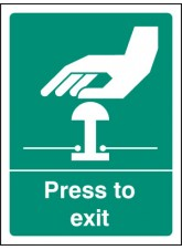Press to Exit