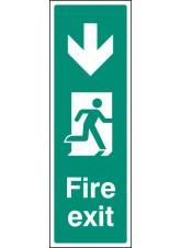 Fire Exit Down (Portrait)