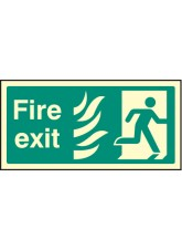 Fire Exit Photo HTM (Right)