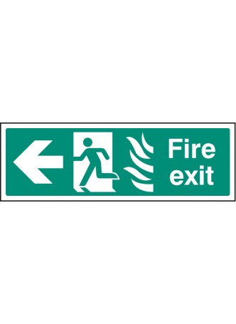 Fire Exit - Arrow Left HTM