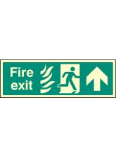 Fire Exit Up Photo HTM