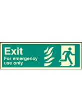 Exit for Emergency use Only - Right HTM