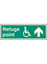 Refuge Point Arrow on