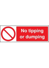 No Tipping Or Dumping