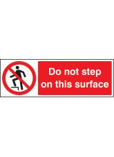 Do Not Step on this Surface