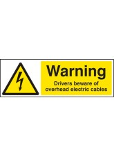 Warning Drivers Beware Overhead Cables