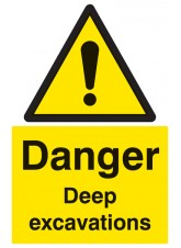 Danger Deep Excavations