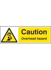 Caution Overhead Hazard