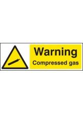 Warning Compressed Gas