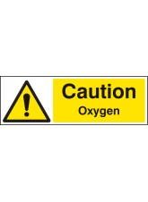 Caution Oxygen