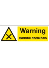 Warning Harmful Chemicals