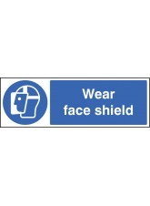 Wear Face Shield