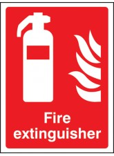 Fire Extinguisher - Quick Fix Sign