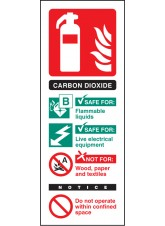 Co2 Identification - Quick Fix Sign