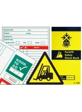 Forklift Inspection Check Book