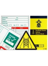 Scaffold Tower Inspection Check Book