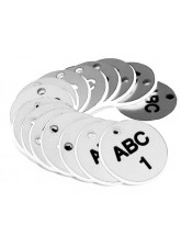 Engraved Valve Tags - 27mm Diameter