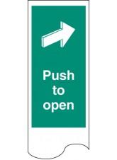 Door Plate - Push to Open
