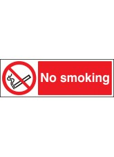 No Smoking - Quick Fix Sign