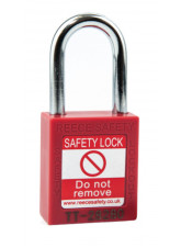Red Lockout Padlock - Keyed Different