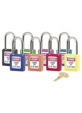 Yellow Lockout Padlock - Keyed Different