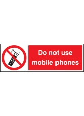 Do Not Use Mobile Phones - Quick Fix Sign