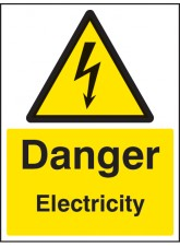 Danger Electricity - Quick Fix Sign