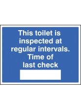 This Toilet Is Inspected