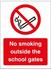 No Smoking Outside the School Gates