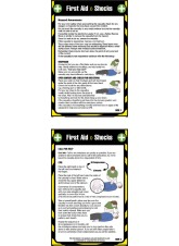 First Aid Shocks - Pocket Guide - 80 x 120mm