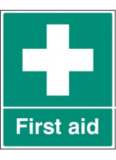 First Aid 250x300mm - Quick Fix Sign