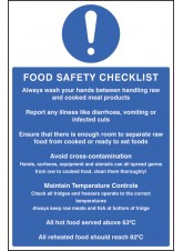 Food Safety Checklist