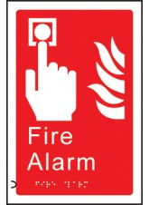 Braille - Fire Alarm