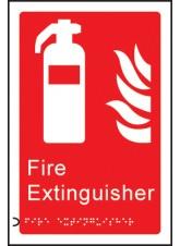 Braille - Fire Extinguisher