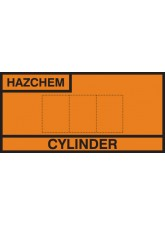 Design Own Cylinder Storage Placard - Aluminium