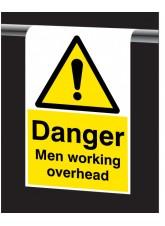 Roll Top - Danger, Men Working Overhead