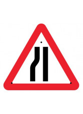 Re-Flex Sign - Road narrowing left