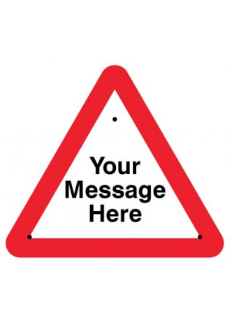 Re-Flex Sign - Your message here