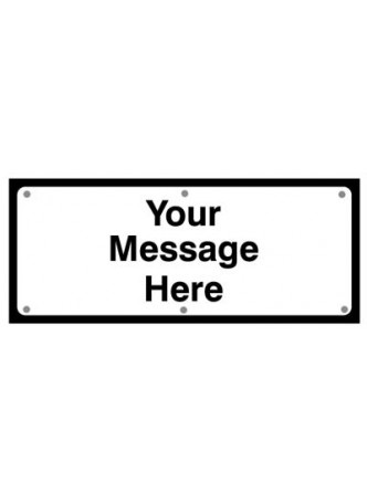 Your message fold up supplementary text with rust proof press studs