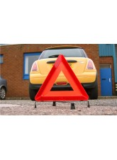 Vehicle Warning Triangle in Case