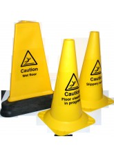 Slippery Surface - Hazard Cone - 500mm - Round