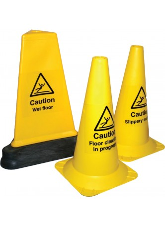 Your Message - Hazard Cone - 500mm - Triangular